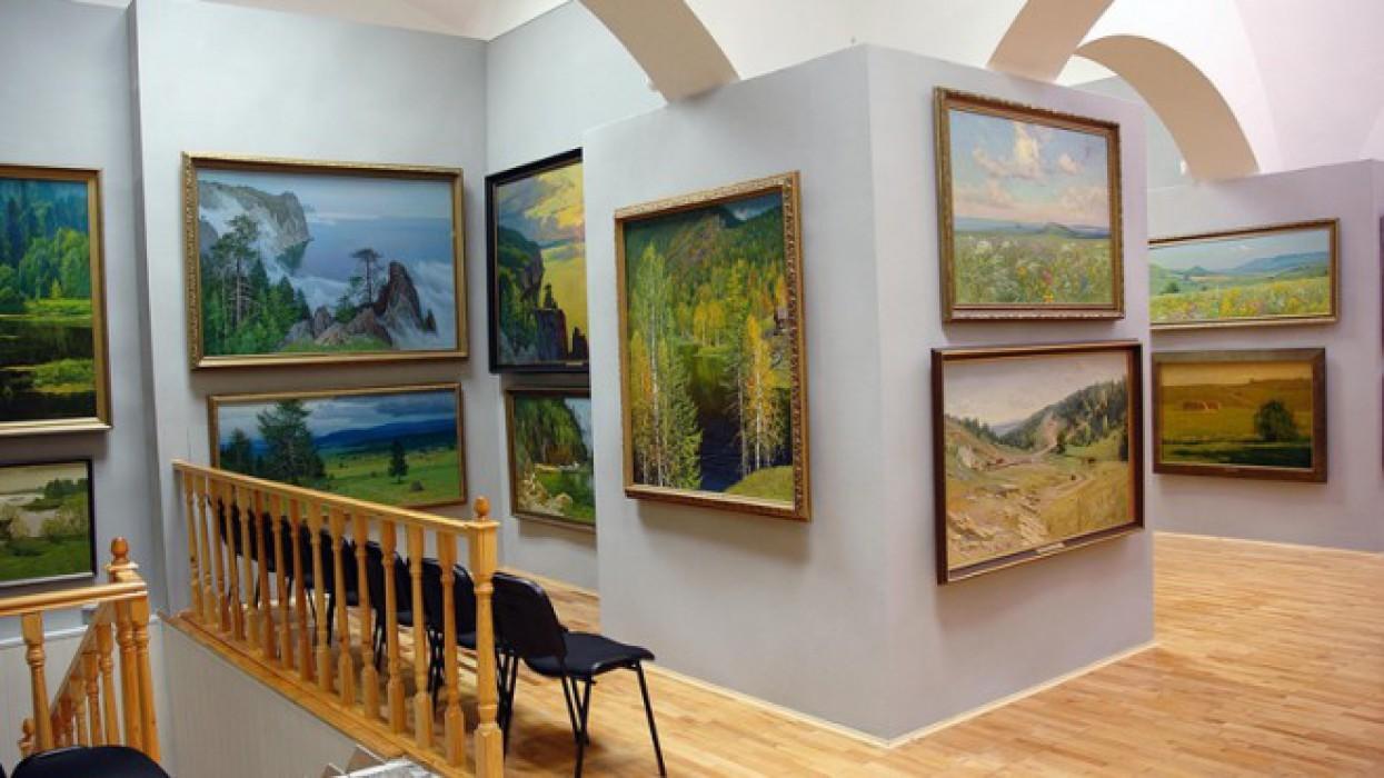 Картинная галерея пейзажей П.М. Гречишкина