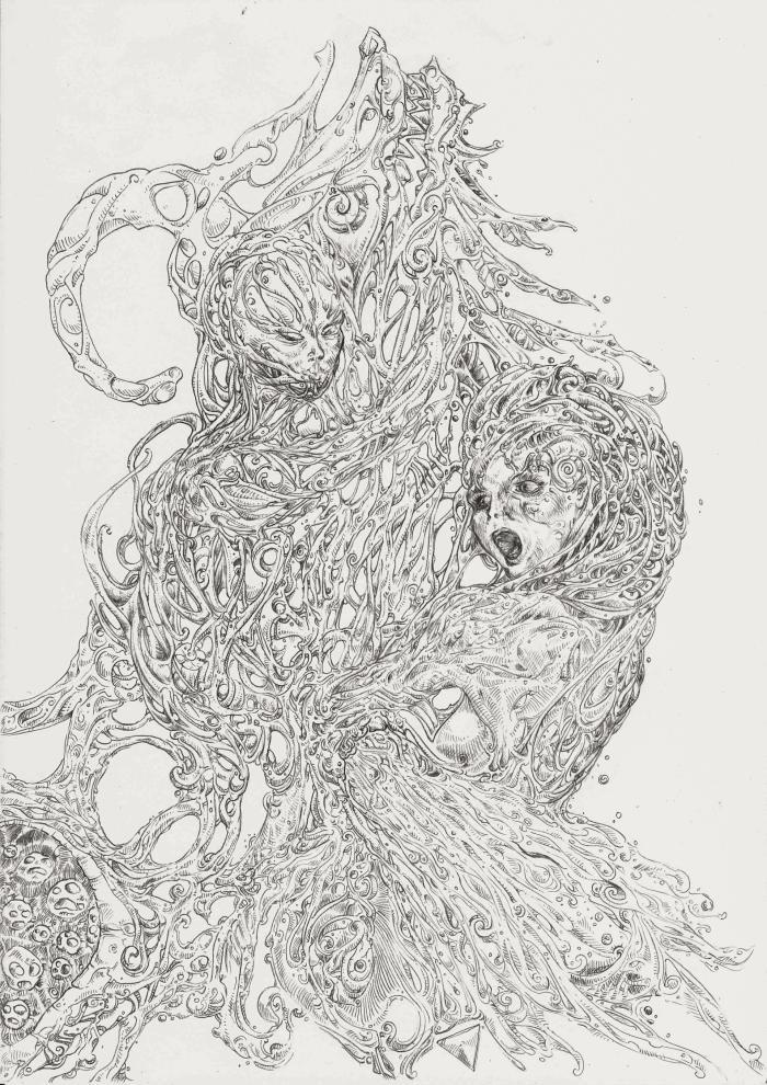 Пришествие зверя, сшитого из ярости | Author: SLRMF