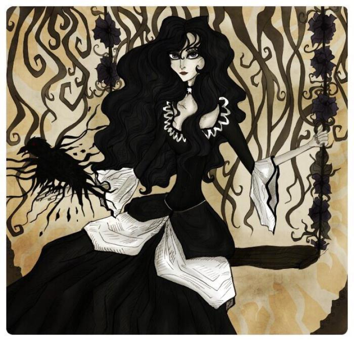 Йеннифер  #darkart #darkfantasy #fantasy #magic #magicalgirl  #wiedźmin #wiedzmin #witcher #yennefer #thewitcher #yenneferofvengerberg #witcher3wildhunt #mixedmedia | Author: elisacoyote