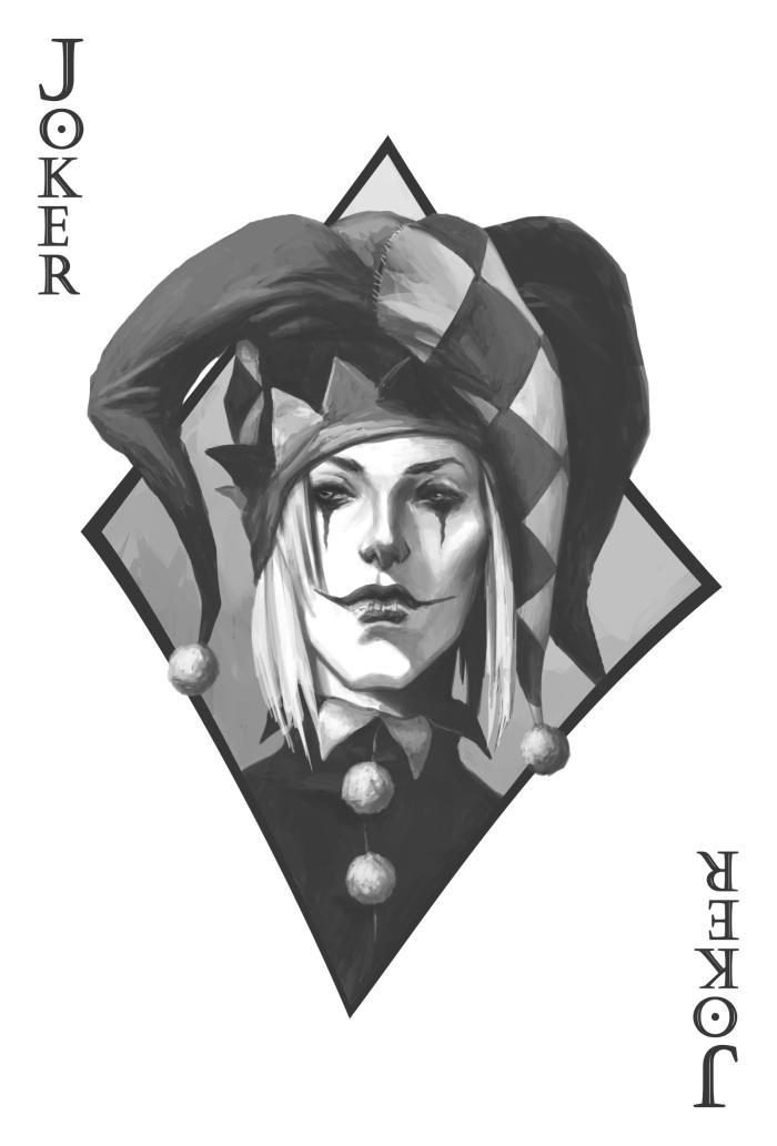 Joker  #Werlioka #Digital_art #Sketch #Portrait #Joker | Author: Werlioka