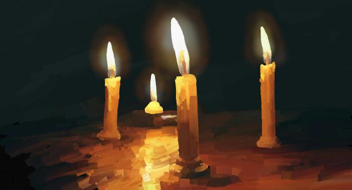 и как это вообще подписать?   #candles #light #dark | Author: bigorangemango