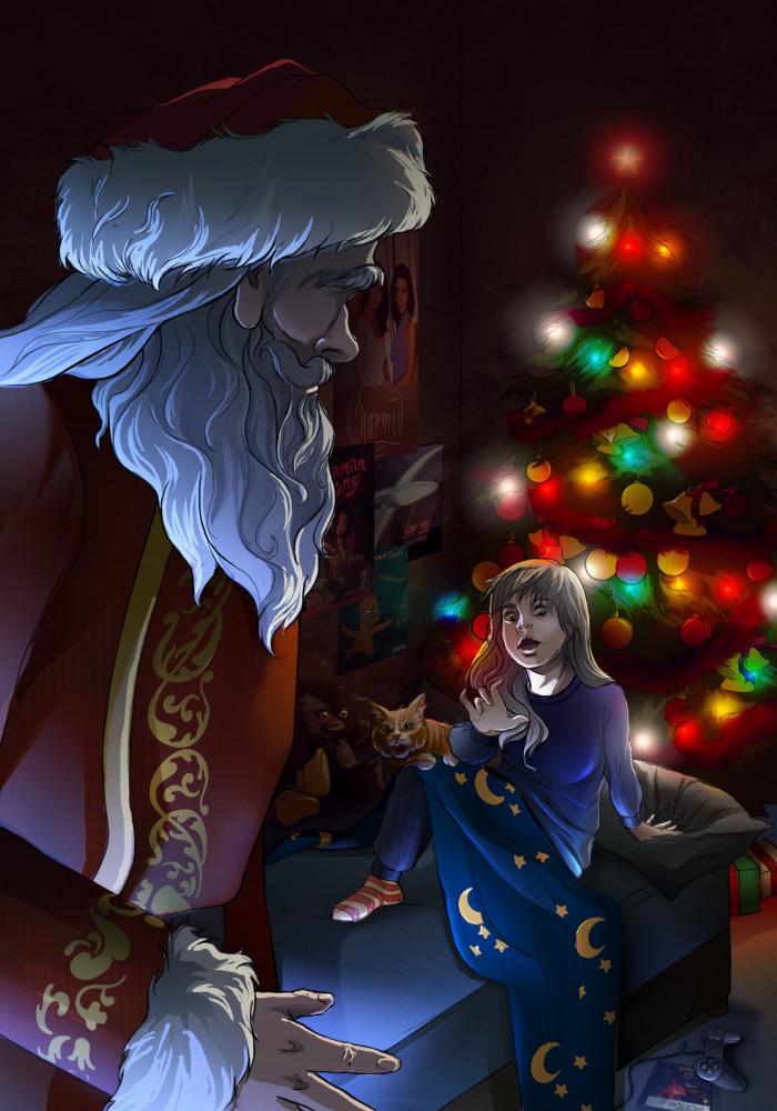 #wachtwo #новый год#дед мороз#елка | Author: Deidg