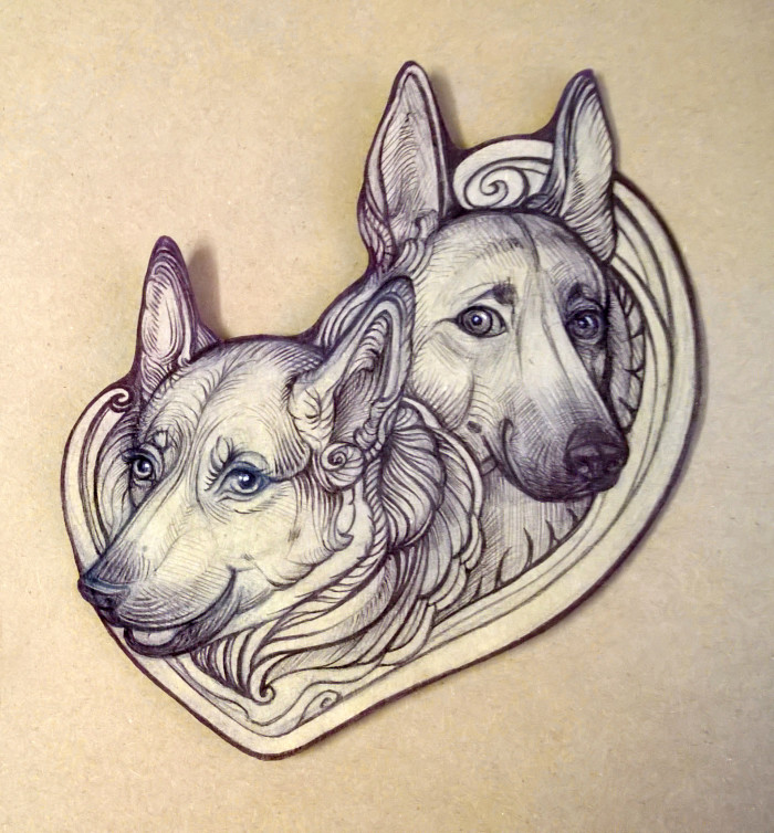 Наши собаки - Шери и Берта :) | Author: Yullapa