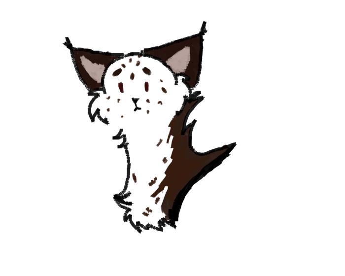 Смотрите это Вёшенка. Имя Вёшенки почти всегда пишут через е. Вёшенка плачет. (я разрисовываюсь в саи, окда) #cat #art  | Author: TheLastNight