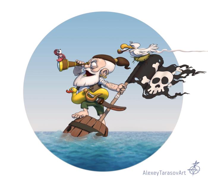 Ловкий пират!) | Author: Sketcher730