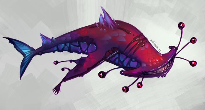 Еще один подводный монстр. | Author: malkesta