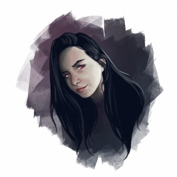 #портрет#девушка#стадик#art | Author: Deidg