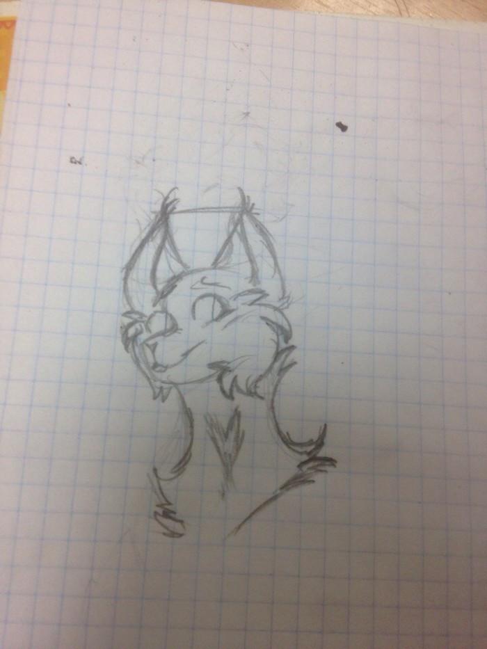 Ахахах... последние обновы были 22 января. Во прикол.  Ладно, я живу, честно. Это моя персонажка с Life of lynx. Её зовут Гроза и она из Небесного Племени.  #Lunx #Oc | Author: TheLastNight