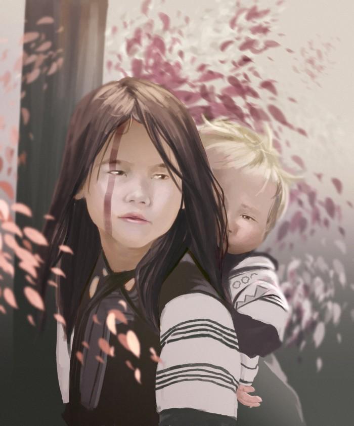 #стадик#дети#брат#сестра#портрет | Author: Deidg