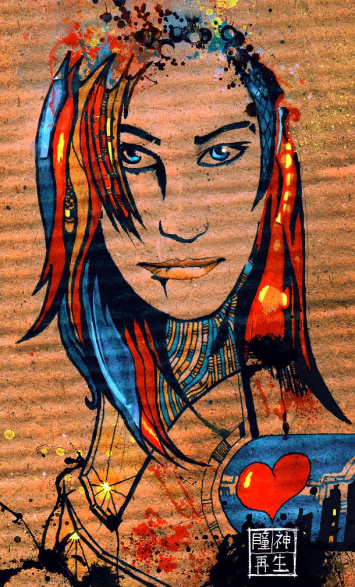 Картинка на картонной коробке для сестрицы | Author: Ace0fredspades