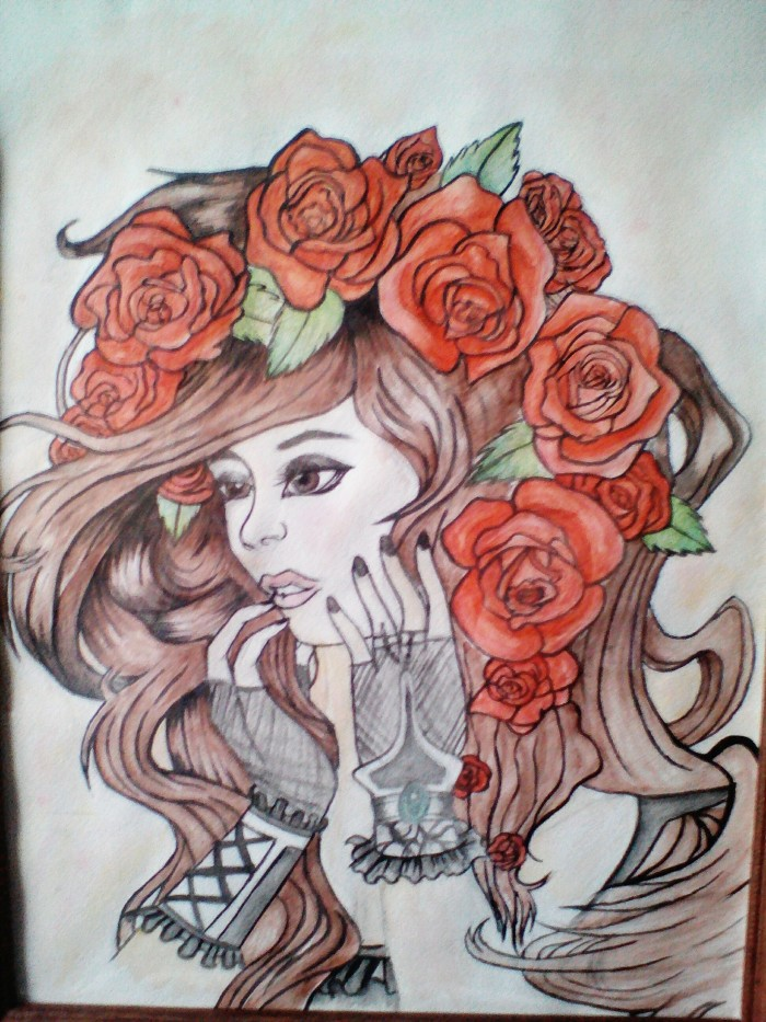 Рисунок с художки :0   Author: Sofia_Kuro ╰(▔∀▔)╯