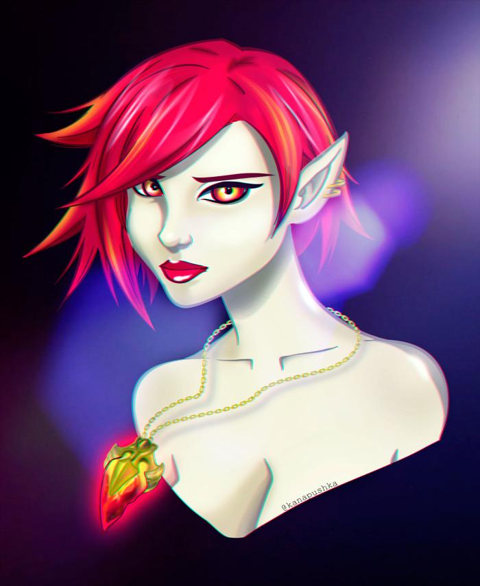 Rin.Legend of the Vampire #вампир #легенда_о_вампире #лов #аниме #игра #такара #kanapushka | Author: Kanapushka
