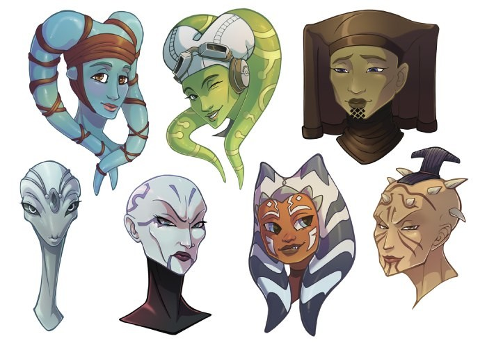 Старворсовчкие дамочки для StarFans.    Author: Namedyoro