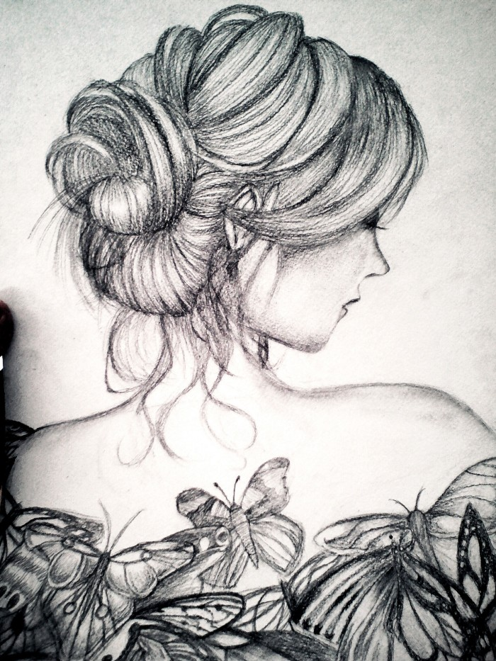Ещё один рисунок с художник :> Про косяки  знаю :0 *ухо улетела :0*   Author: Sofia_Kuro ╰(▔∀▔)╯