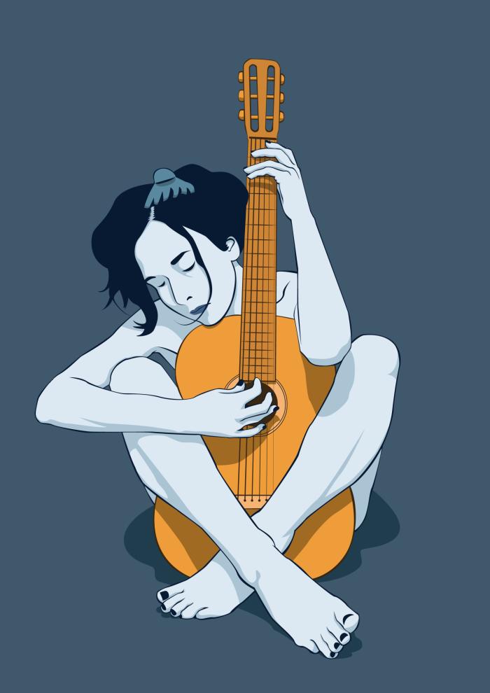 Референс: https://lina-tsu.deviantart.com/art/stock-with-guitar-1-47156873 | Author: Андрей Кошелев