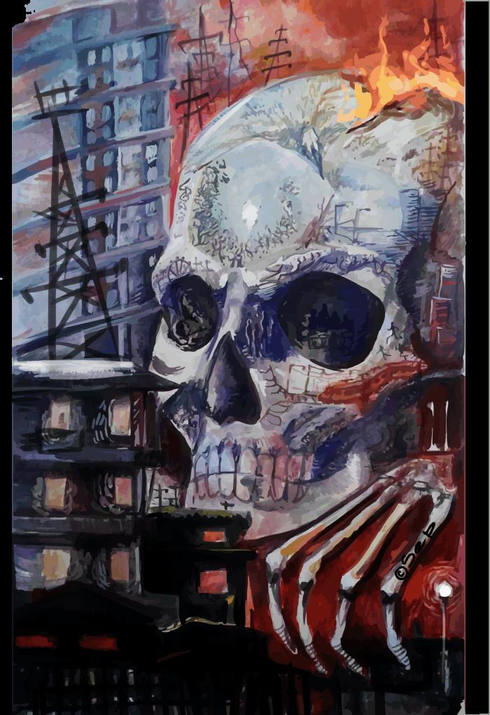 оцифровала прошлогоднюю живопись в вузике (оригинал украли преподы в фонд) | Author: Sepp