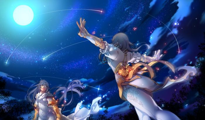 Конкурсная работа по BnS Пи Воль и Чин Соен под звездным небом. | Author: RafMilk