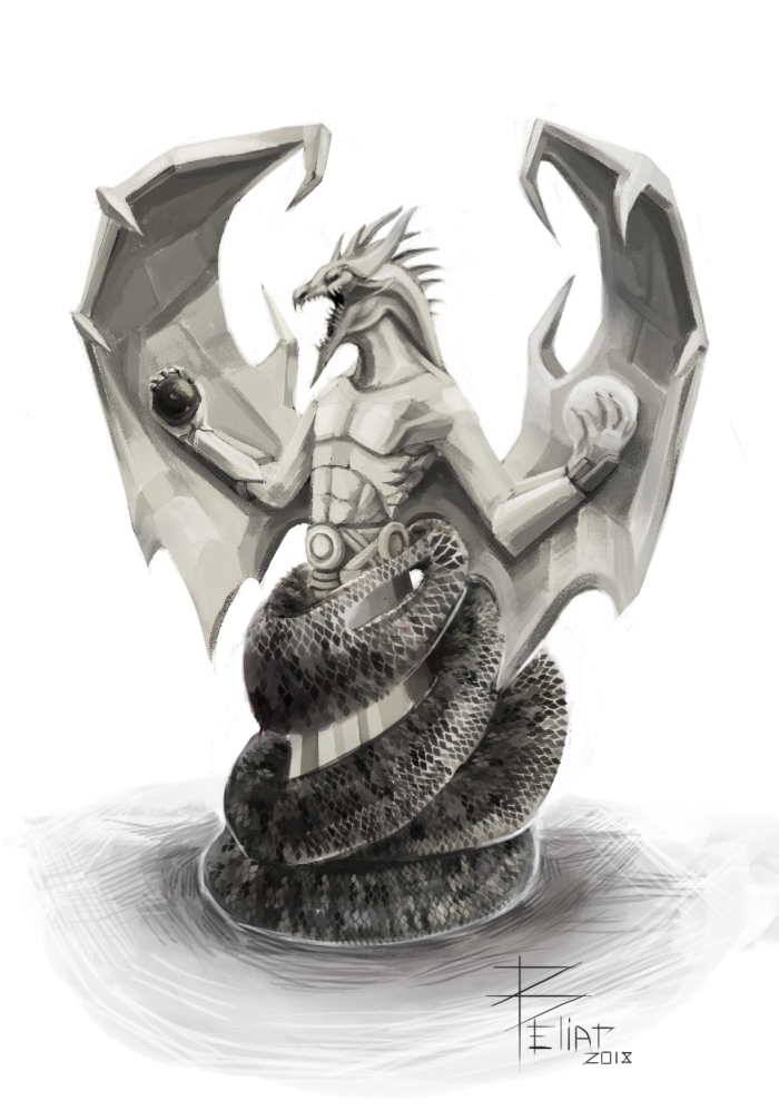 #concept_art #dragon #create  | Author: Beliar