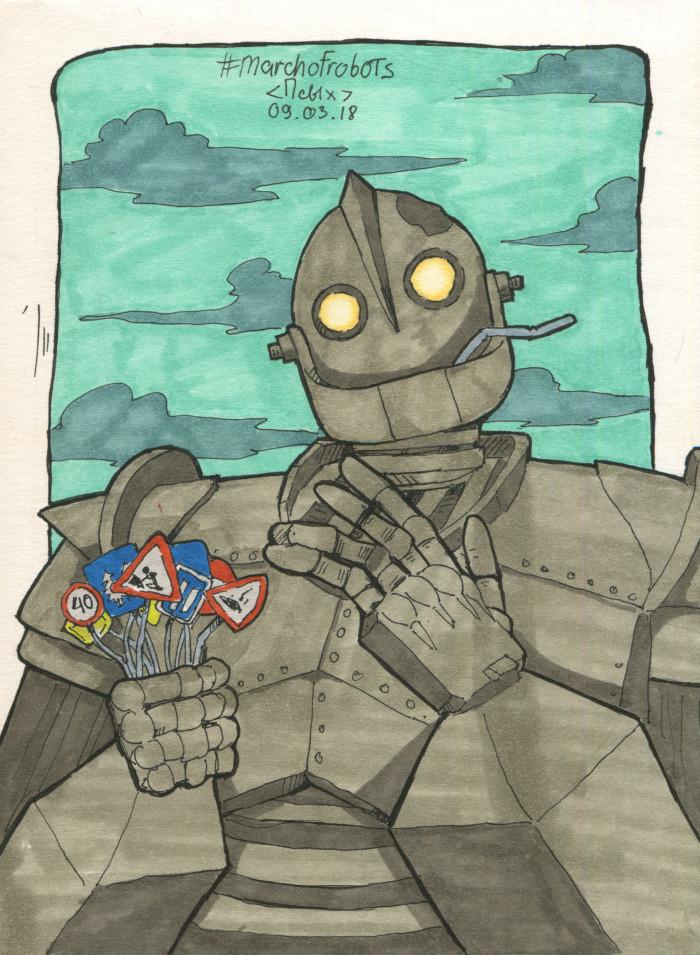 Просто #marchofrobots залитый в середине лета :D   Author: Маленький ПсЫх