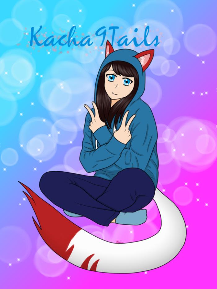 Попытка нарисовать себя | Author: Kacha9Tails