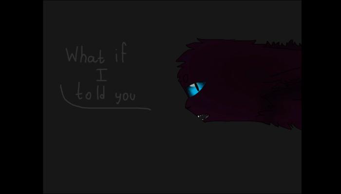 Захотел сделать ремейк на свой старый PMV If I told you. Сделал первый кадр. Забил.  май 2015 vs июль 2018. | Author: DarkCat (BlackSoul)