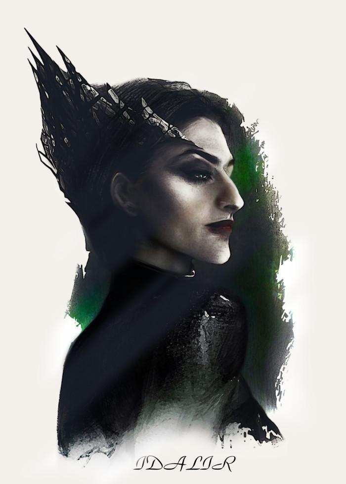 #иллюстрация #арт #illustration #art #dark #darkart   Author: Idalir