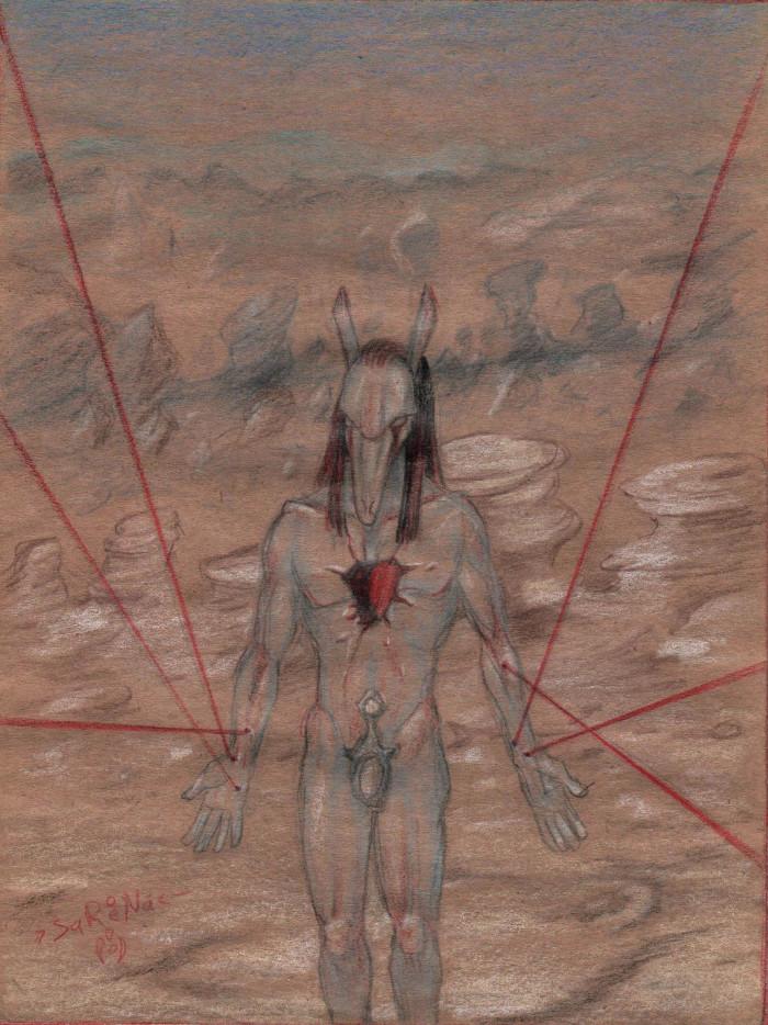 Тот, чье сердце в Каире (Сет, наказанный за мятеж в мире богов. По мотивам комиксов Энки Билала и моих сновидений) | Author: Sareena