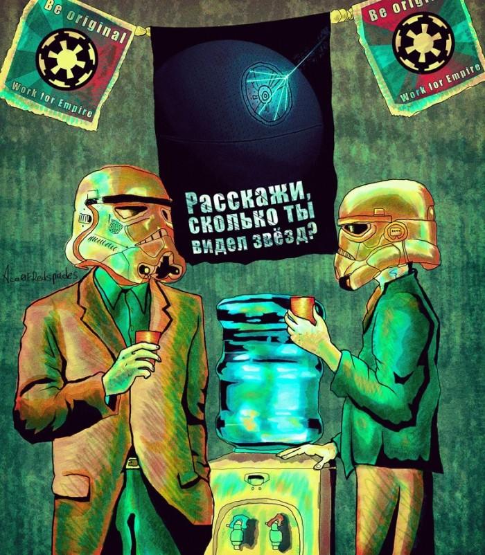 Старый постер о жизни (полностью на компе нарисовано) | Author: Ace0fredspades