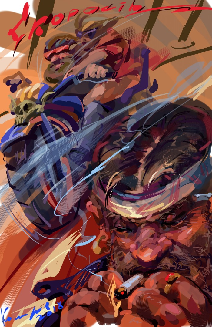 Рисую на планшете Самсунг Гелекси Ноте 10   Author: Игорь Комаров