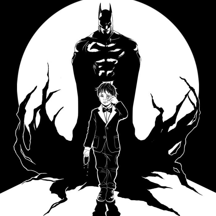 Inktober 15 #batman#inktober2018 | Author: Deidg