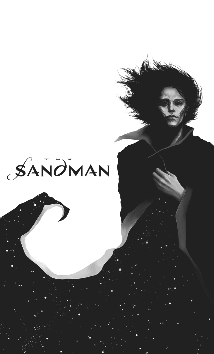 "Морфей из ""The Sandman"" Нила Геймана.  #Werlioka #Sandman #Morpheus | Author: Werlioka"