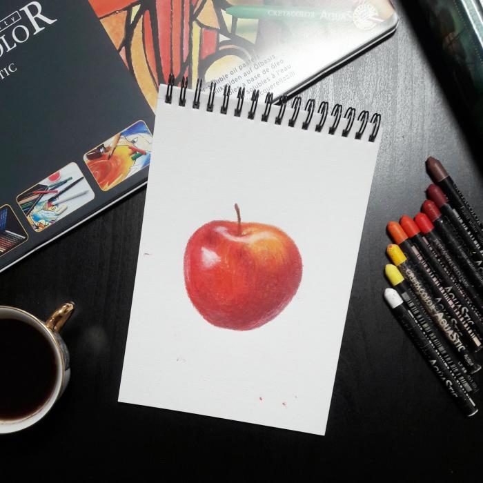 Моя первая попытка поработать масляной пастелью ))  #Werlioka | Author: Werlioka