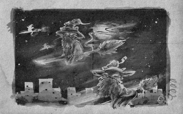 Коты летают на мётлах | Author: MGimg