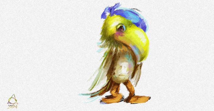 Возвращение блудного попугая (неоклассического) | Author: MGimg