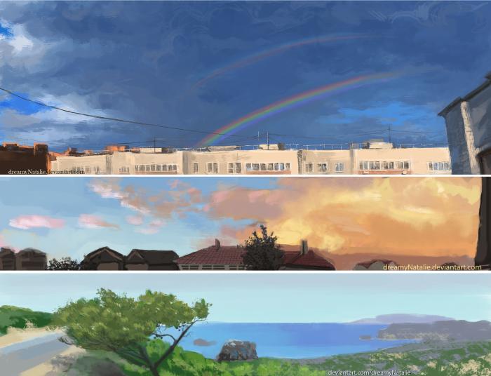Панорамные пейзажи. | Author: DreamyNatalie