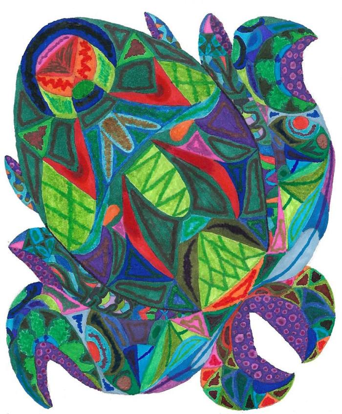 осминожек #octopus #patterns | Author: София Лукачева