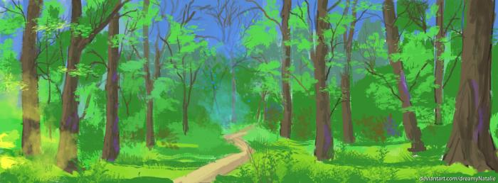 Лес. | Author: DreamyNatalie