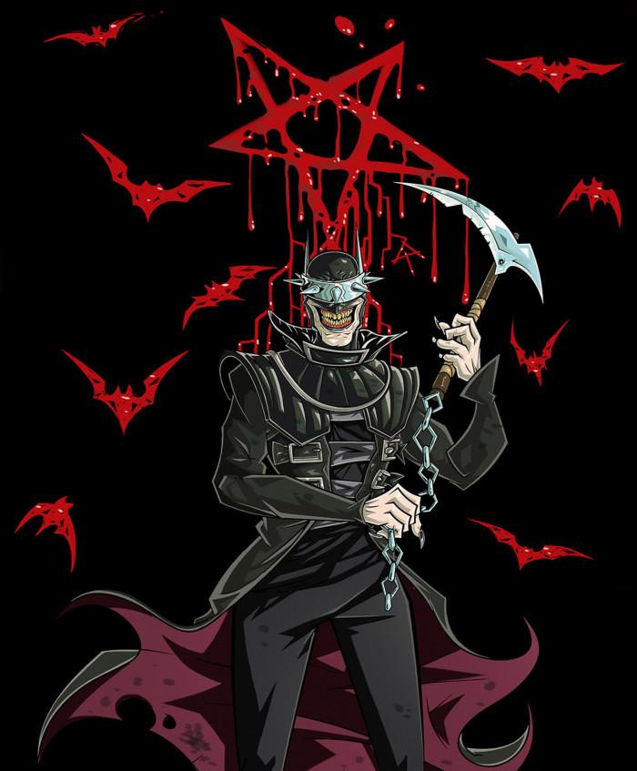 #TheBatmanWhoLaughs #DarkNightsMetal #Metal  Бэтмен, который смеется.. Это Бэтмен, который всегда побеждает.  | Author: Данила Хлуденёв
