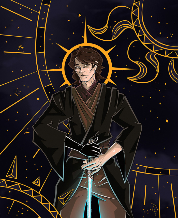 #StarWars #AnakinSkywalker  Он ненавидит песок. | Author: Данила Хлуденёв