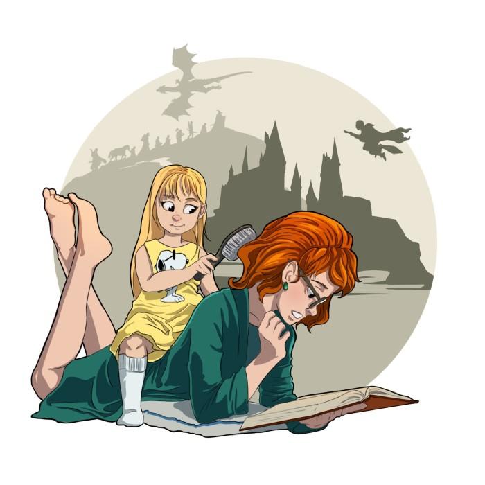 Воспоминания о детстве | Author: Deidg