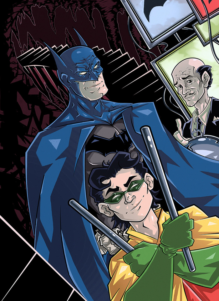 #Batman #Robin #BatmanandRobin #Alfred  Лучшие дни. | Author: Данила Хлуденёв