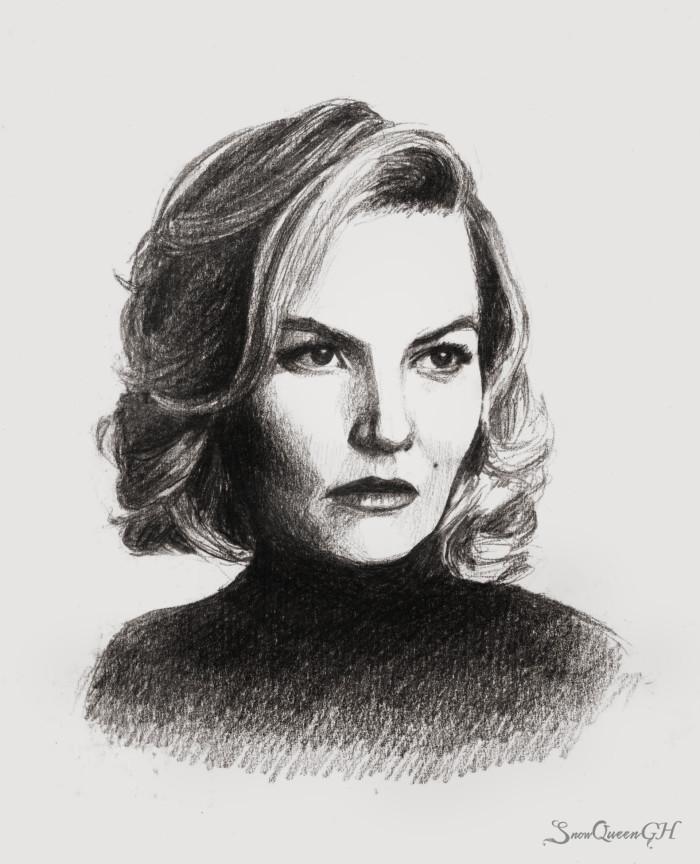 [ лениво разрисовываюсь ]  ~~~~~~~~~~~~~~~~~~~~~~~~~~~~  #скетч #sketch #jennifermorrison    Author: SnowQueenGH