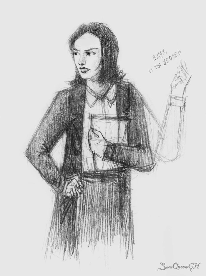 [ леплю без рефов скетчики по нашему с подругой проекту ] [ да, я знаю, что три руки выглядят забавно ]  ~~~~~~~~~~~~~~~~~~~~~~~~~~~~  #sketch #скетч    Author: SnowQueenGH