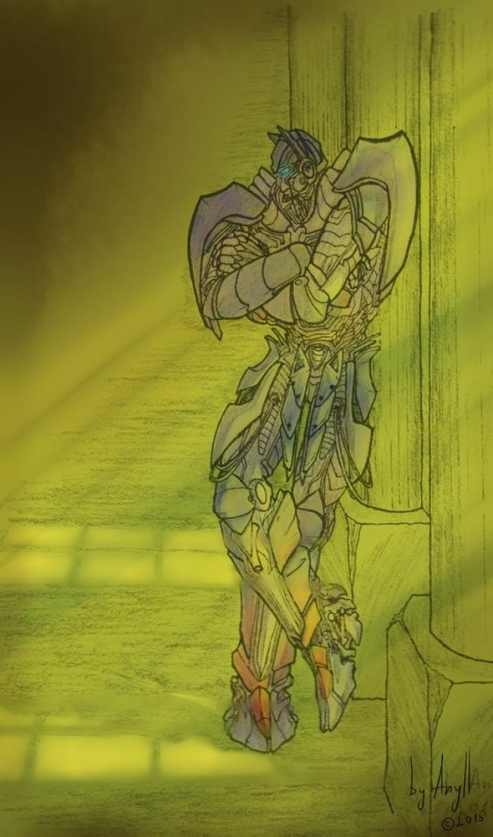 Старооссть! Но мне очень нравится этот рисунок. #optimusprime #bayverse #transformers   Author: Клематиста
