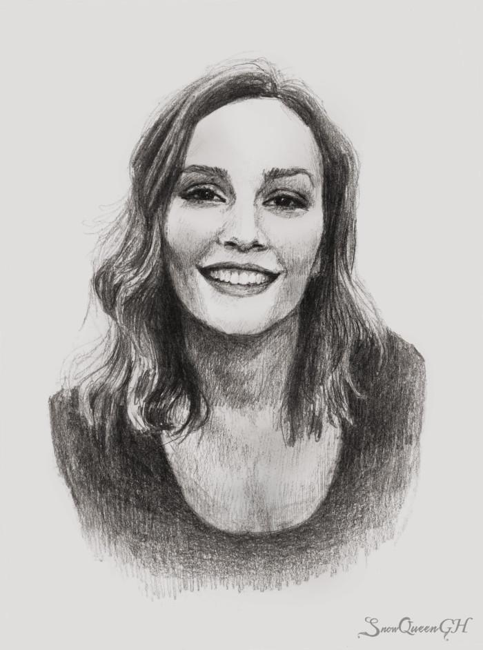 [ ещё немножечко Лейтон ]  ~~~~~~~~~~~~~~~~~~~~~~~~~~~~  #sketch #скетч #portrait #портрет #leightonmeester #лейтонмистер | Author: SnowQueenGH