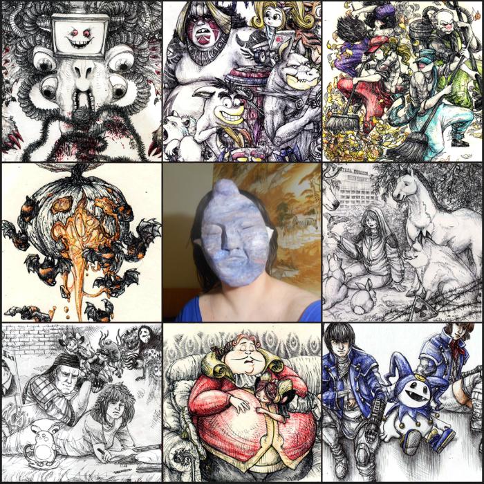 #artvsartist2019 Хм-хм-хммм... | Author: Neutral Demon