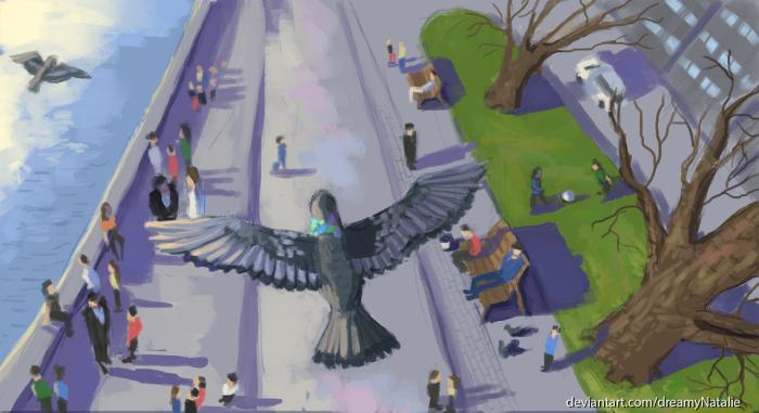 Вид с высоты птичьего полета.  | Author: DreamyNatalie