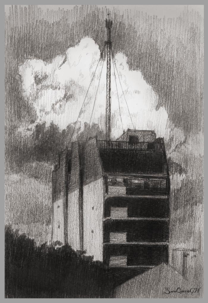 [ люблю небо и шикарные фото ]  ~~~~~~~~~~~~~~~~~~~~~~~~~~~~  #sketch #скетч #небо #sky | Author: SnowQueenGH
