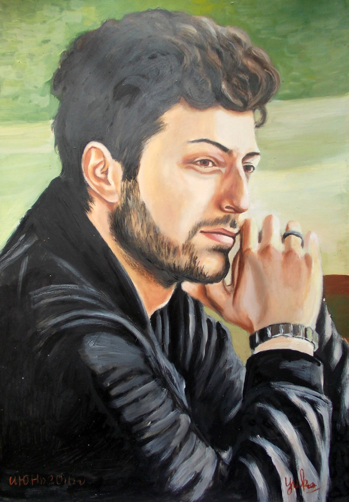 Гиорги Чиковани портрет №5 | Author: Юлия