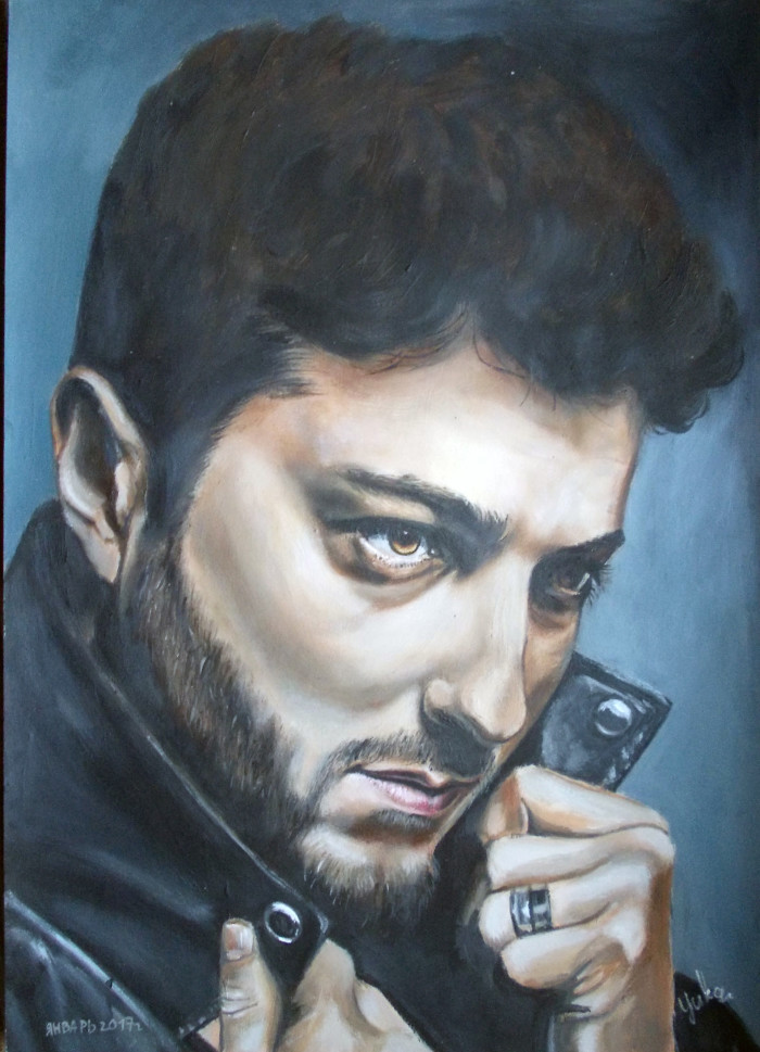 Гиорги Чиковани портрет №8 | Author: Юлия